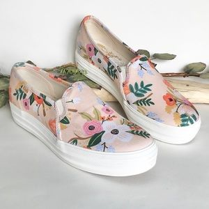 Keds Triple Decker Lively Floral Sneakers NWB 7.5